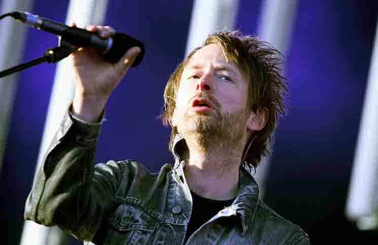 Thom Yorke - Radiohead in Concert at Victoria Park in London