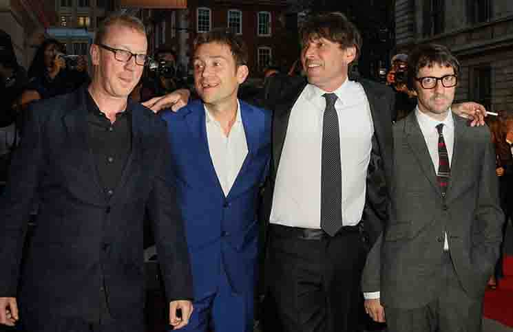 Blur - GQ Men of the Year Awards 2015 London