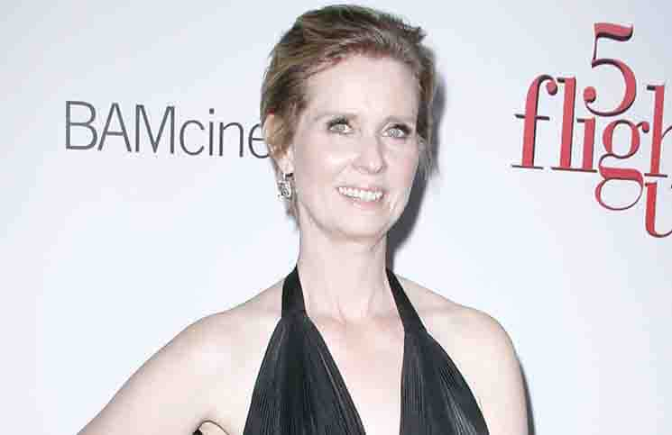 "Cynthia Nixon - ""5 Flights Up"" New York City Premiere"