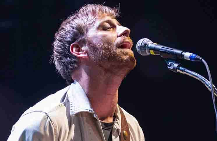 Dan Auerbach - The Black Keys and The Maccabees in Concert at Pavilhao Atlantico in Lisbon - November 27, 2012