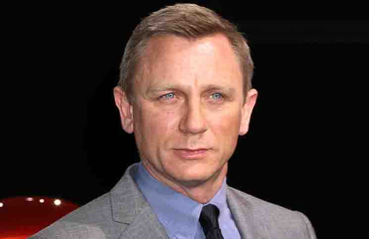 Daniel Craig - 2014 Range Rover Sport World Unveiling at Skylight at Moynihan Station in New York City