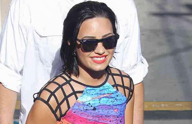 "Demi Lovato - ""Jimmy Kimmel Live!"" - August 31, 2015"