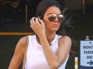 Kendall Jenner Sighted in Beverly Hills on July 17, 2015