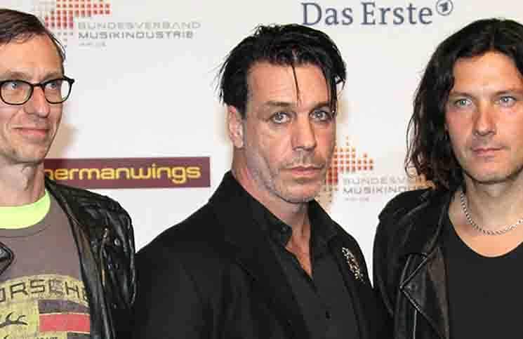 Rammstein - Echo 2011 - Teppich