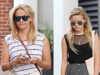 Reese Witherspoon and Ava Elizabeth Phillippe Sighted in Los Angeles on July 29, 2015