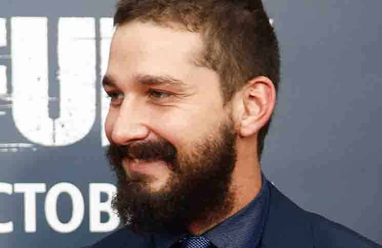 "Shia LaBeouf - ""Fury"" Washington D.C. Premiere"