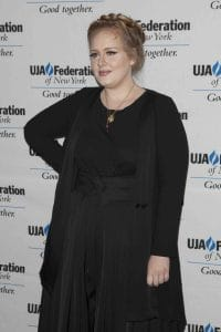 Adele - UJA-Federation Of New York Music Visionary Of The Year Award Luncheon