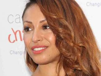 Amelle Berrabah - Caudwell Children Butterfly Ball 2014