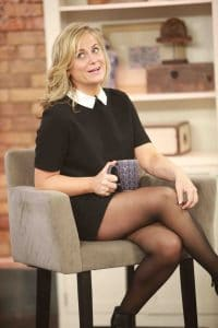 """Amy Poehler Visits The Marilyn Denis Show and Talks About Her New Book """"Yes Please"""" in Toronto on November 7, 2014"""