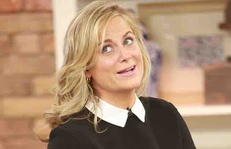 "Amy Poehler Visits The Marilyn Denis Show and Talks About Her New Book ""Yes Please"" in Toronto on November 7, 2014"