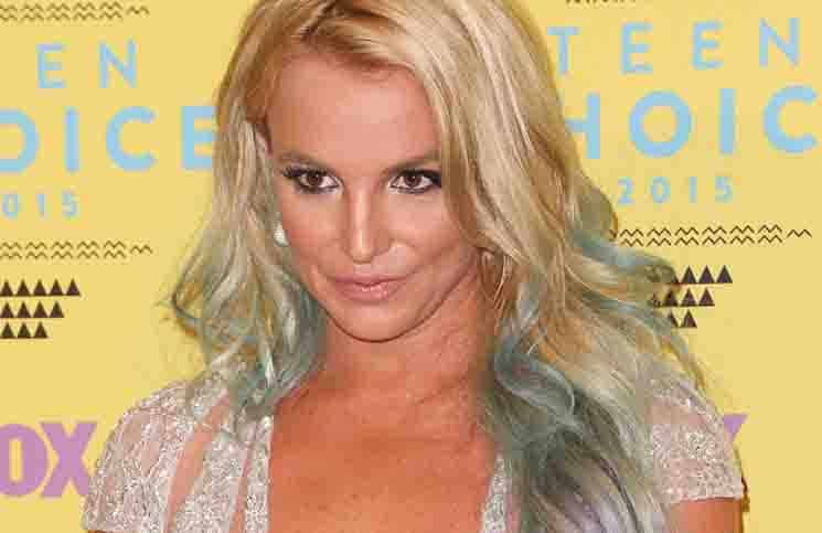 Britney Spears - Teen Choice Awards 2015