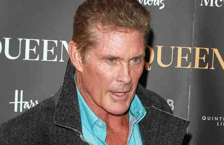 "David Hasselhoff - ""McQueen"" UK Press Night"