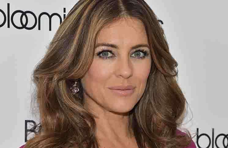 Elizabeth Hurley - Bloomingdale's Kicks-off Breast Cancer Awareness Month with Pink Party
