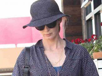 Emily Blunt Sighted in Los Angeles on August 27, 2015