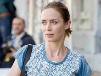 Emily Blunt Sighted Arriving at Hotel Maria Cristina in San Sebastian on September 19, 2015