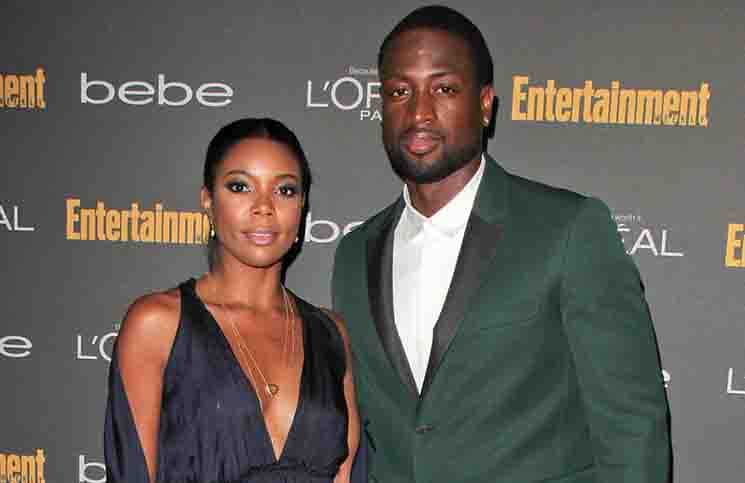 Gabrielle Union, Dwayne Wade - 65th Annual Primetime Emmy Awards