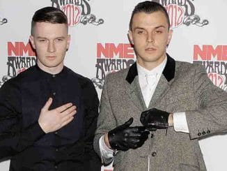 Hurts - NME Awards 2012 - Awards