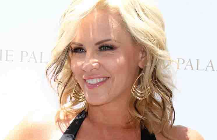 Jenny McCarthy Hosts the Ultimate Pool Party at Azure Luxury Pool in Las Vegas on July 11, 2014