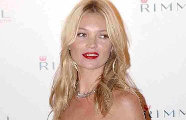 Kate Moss - Rimmel Cosmetics Celebrates a 10 Year Partnership with Kate Moss at Battersea Power Station in London