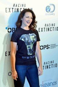 "Kristin Davis - Discovery Channel's ""Racing Extinction"" Los Angeles Premiere"