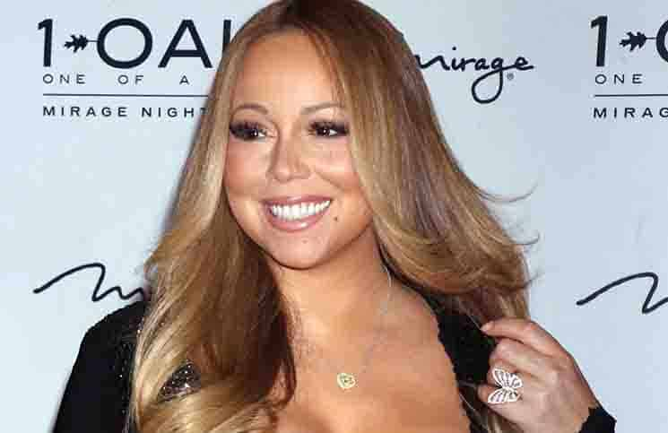 Mariah Carey Hosts the Evening at 1Oak Nightclub in Las Vegas on July 25, 2015