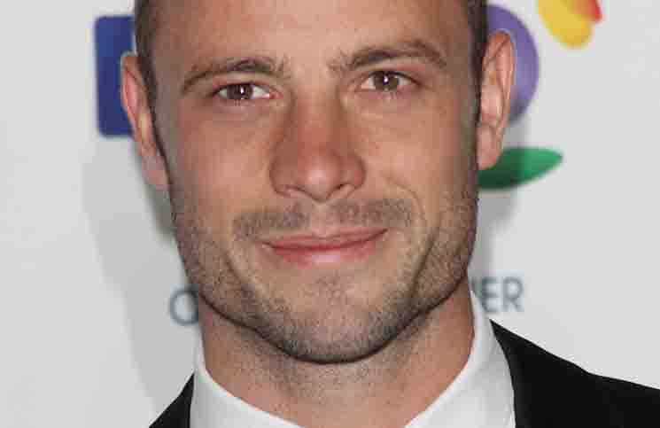 Oscar Pistorius - BT British Olympic Ball 2012