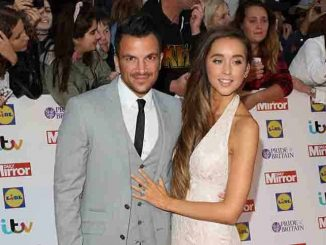 Peter Andre and Emily McDonough - Pride of Britain Awards 2015