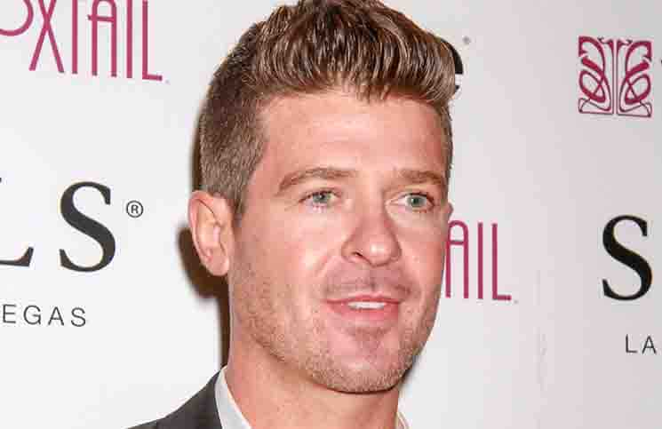 Robin Thicke - New Year's Eve Celebration with Robin Thicke at Foxtail Nightclub in Las Vegas
