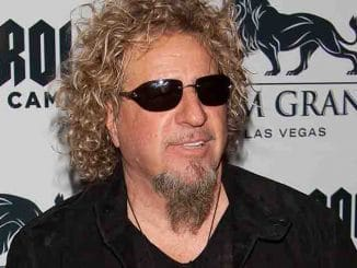 Sammy Hagar Appears at Rock 'n' Roll Fantasy Camp in Las Vegas on March 8, 2013