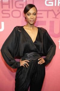 """Tyra Banks - The CW Network Celebrates the Launch of """"High Society"""", """"Fly Girls"""" and the Cycle 14 of """"Americas Next Top Model"""" - Arrivals"""