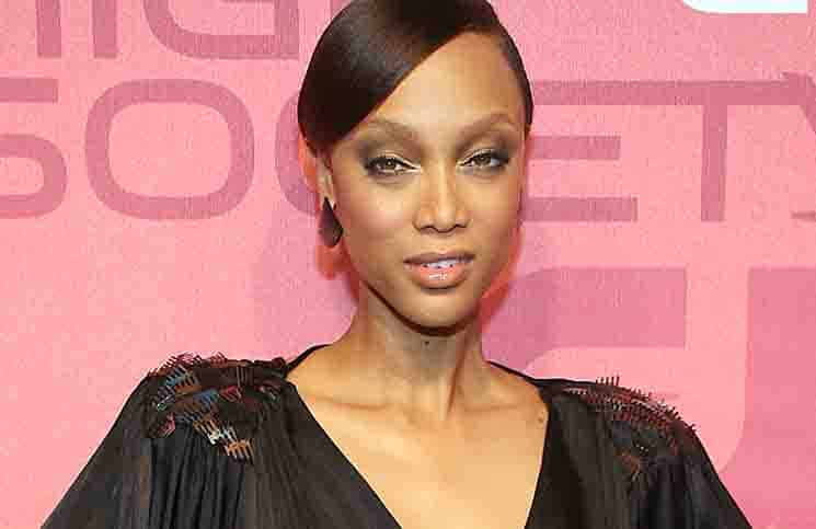"Tyra Banks - The CW Network Celebrates the Launch of ""High Society"", ""Fly Girls"" and the Cycle 14 of ""Americas Next Top Model"" - Arrivals"