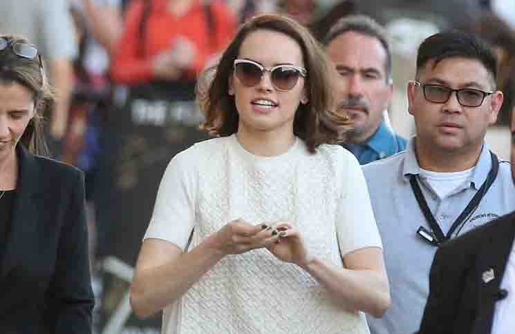 "Daisy Ridley: Nervös am ""Star Wars""-Set - Kino News"