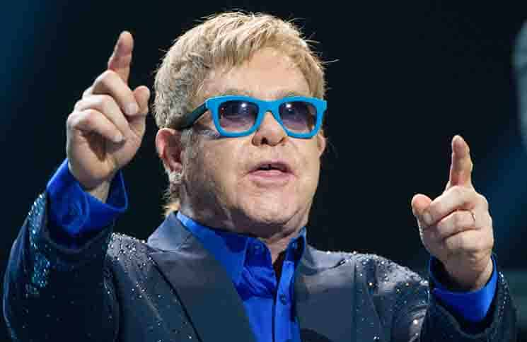 Elton John in Concert at the Universal Music Festival in Madrid - July 20, 2015