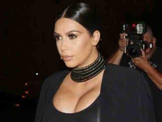 Kim Kardashian - Cosmopolitan's 50th Birthday Celebration