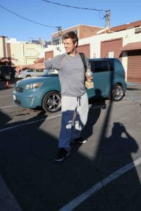 """Nick Carter - """"Dancing with the Stars"""" Final Rehearsal in Hollywood"""