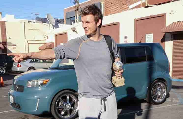 "Nick Carter - ""Dancing with the Stars"" Final Rehearsal in Hollywood"