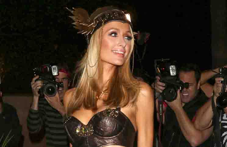 Paris Hilton - 2015 Casamigos Tequila Halloween Party - Arrivals