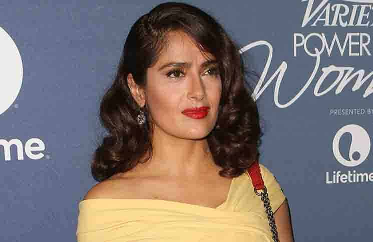 Salma Hayek Pinault - 7th Annual Variety's Power of Women Luncheon - Arrivals