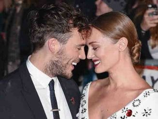 "Sam Claflin and Laura Haddock - ""The Hunger Games: Mockingjay - Part 2"" UK Premiere"