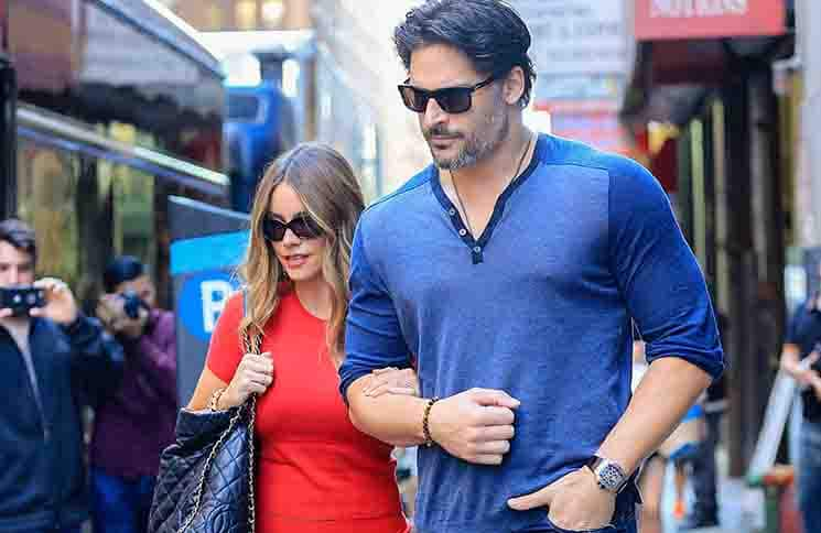 Sofia Vergara and Joe Manganiello Sighted in New York City on September 23, 2015