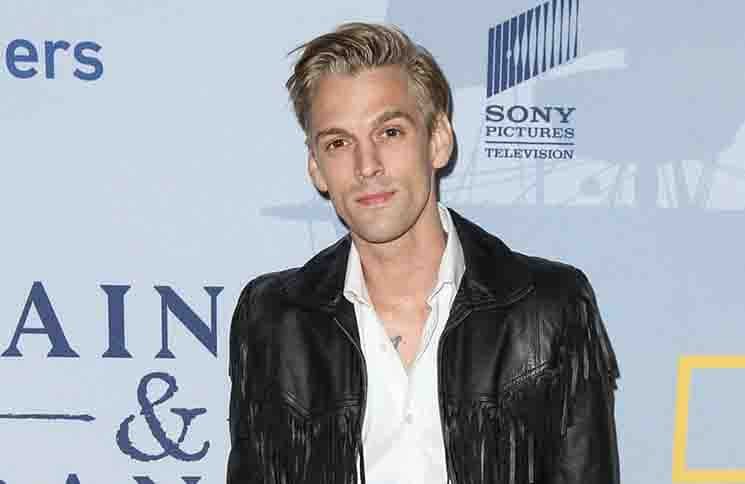 "Aaron Carter - National Geographic Channel's ""Saints & Strangers"" TV Mini-Series Premiere"