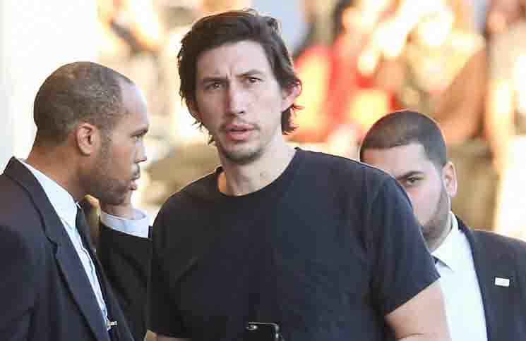 "Adam Driver - ""Jimmy Kimmel Live!"" - November 23, 2015"