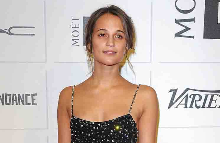 Alicia Vikander - Moet British Independent Film Awards 2015