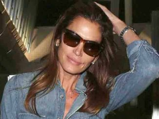 Cindy Crawford Sighted Arriving at LAX Airport on November 18, 2015