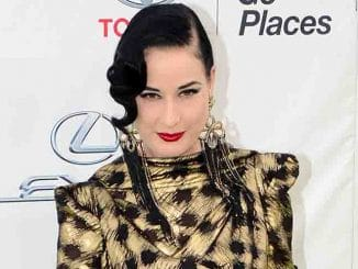 Dita Von Teese - 25th Annual EMA Awards Presented by Toyota and Lexus