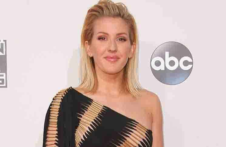 Ellie Goulding - 2015 American Music Awards - Arrivals
