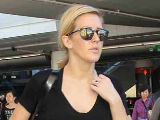 Ellie Goulding Sighted at LAX Airport on November 21, 2015
