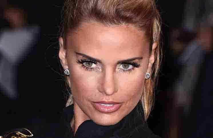 """Katie Price - """"The Hunger Games: Mockingjay - Part 2"""" UK Premiere"""