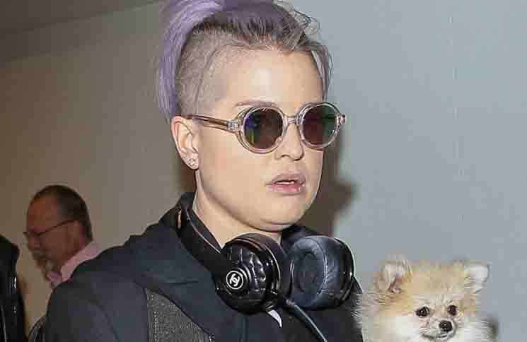 Kelly Osbourne Sighted in Los Angeles on October 29, 2015