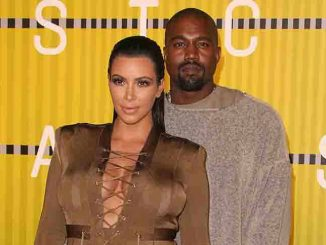 Kim Kardashian and Kanye West - 2015 MTV Video Music Awards